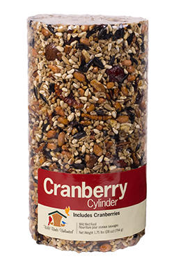 Cranberry Seed Cylinder